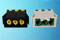 Series 166GE coloured plug & socket connectors
