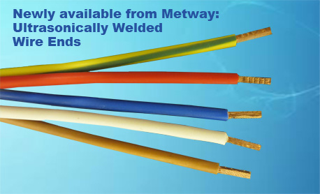 ultrasonically welded wire ends